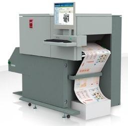 Oce 7110 continuous laser printer