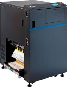 SATO LP 100R continuous form laser printer with flash fusion and IPDS language
