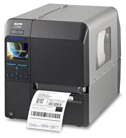 sato cl4nx thermal printer with metal housing and up to 609 dpi