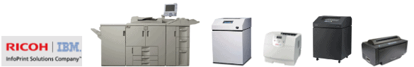 used-InfoPrint-IPDS-printers