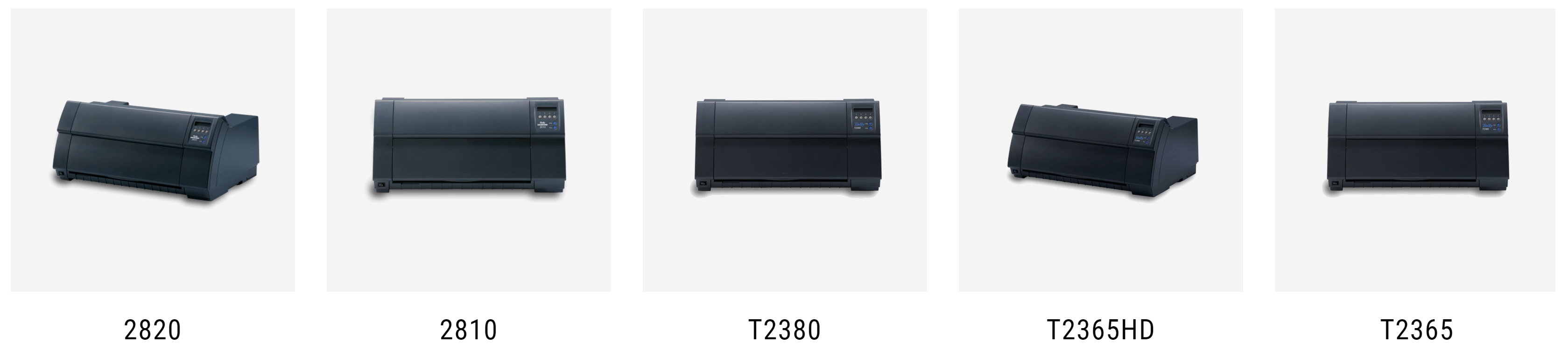 Tally DASCOM serial dot matrix printers